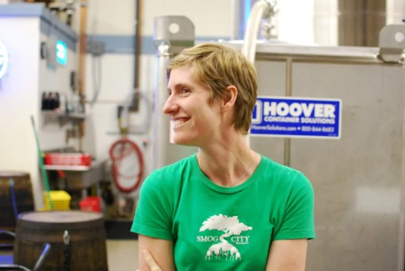 Laurie Porter of Smog City Brewing