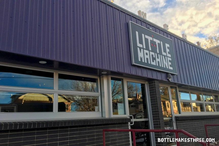 Little Machine Beer, Denver CO | BottleMakesThree.com