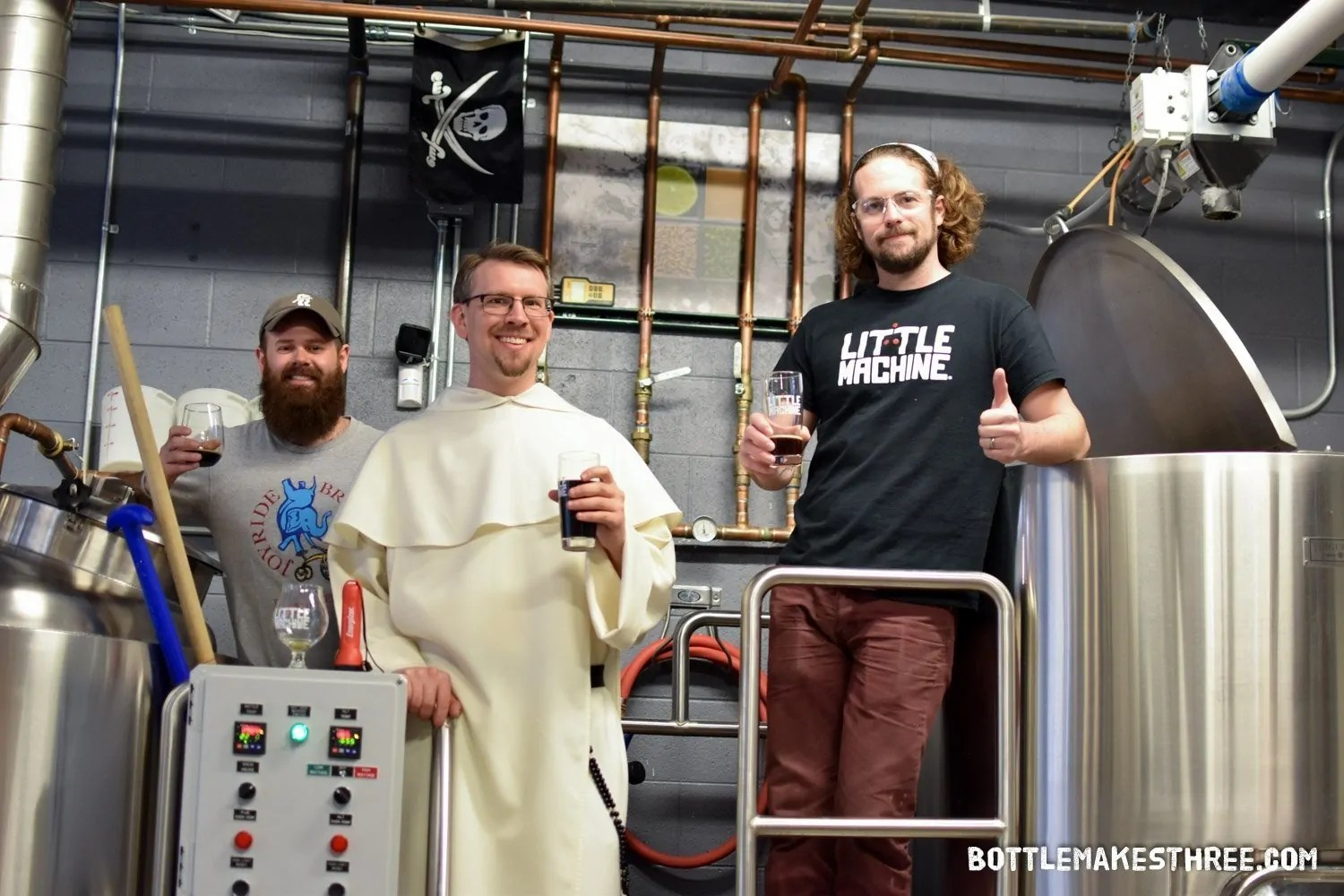 2017 Collaboration Fest Preview: Little Machine Beer & Joyride Brewing prove that the West Side is the Blessed Side | BottleMakesThree.com