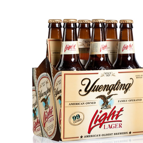 Yuengling Light Carbs