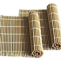 JapanBargain 1573x2 Sushi Roll Mat, 2pc, Yellow