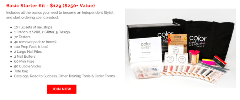 Color Street Independent Stylist Basic Starter Kit for $129