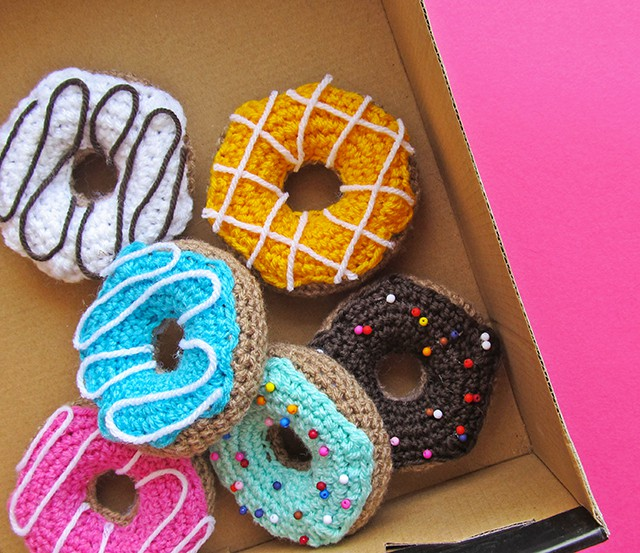 DIY Crochet Donuts from Little Things Blog