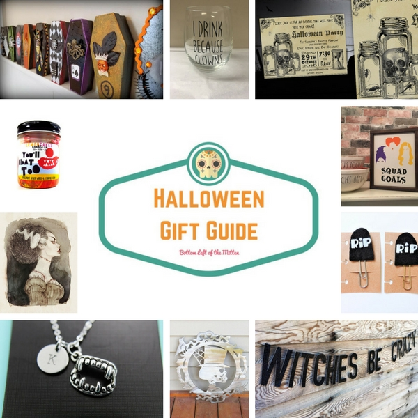 Halloween Gift Guide | Bottom Left of the Mitten