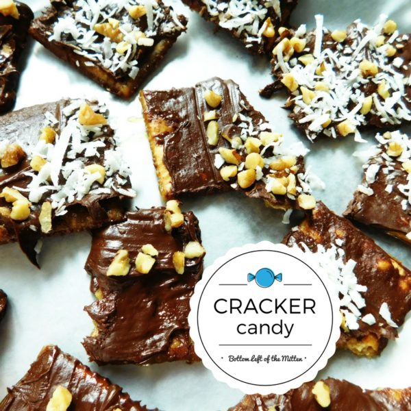 Cracker Candy | Bottom Left of the Mitten