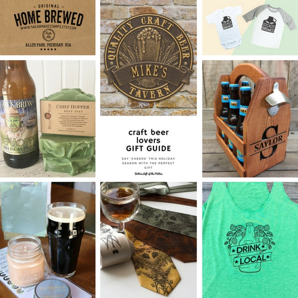 gift ideas for craft beer lovers craft gift guide bottom left of the mitten 7739