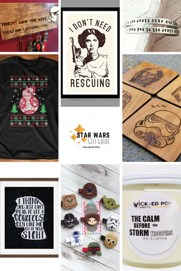 Star Wars Gift Guide   Bottom Left of the Mitten #starwars #giftguide #movie