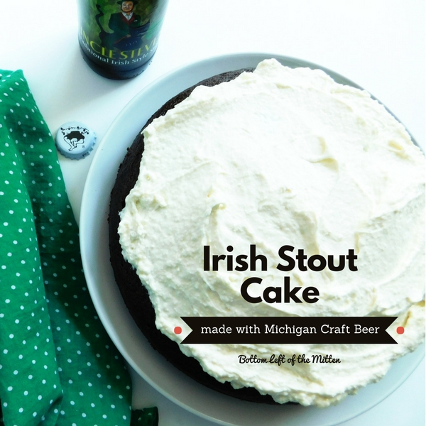 Irish Stout Cake | Bottom Left of the Mitten