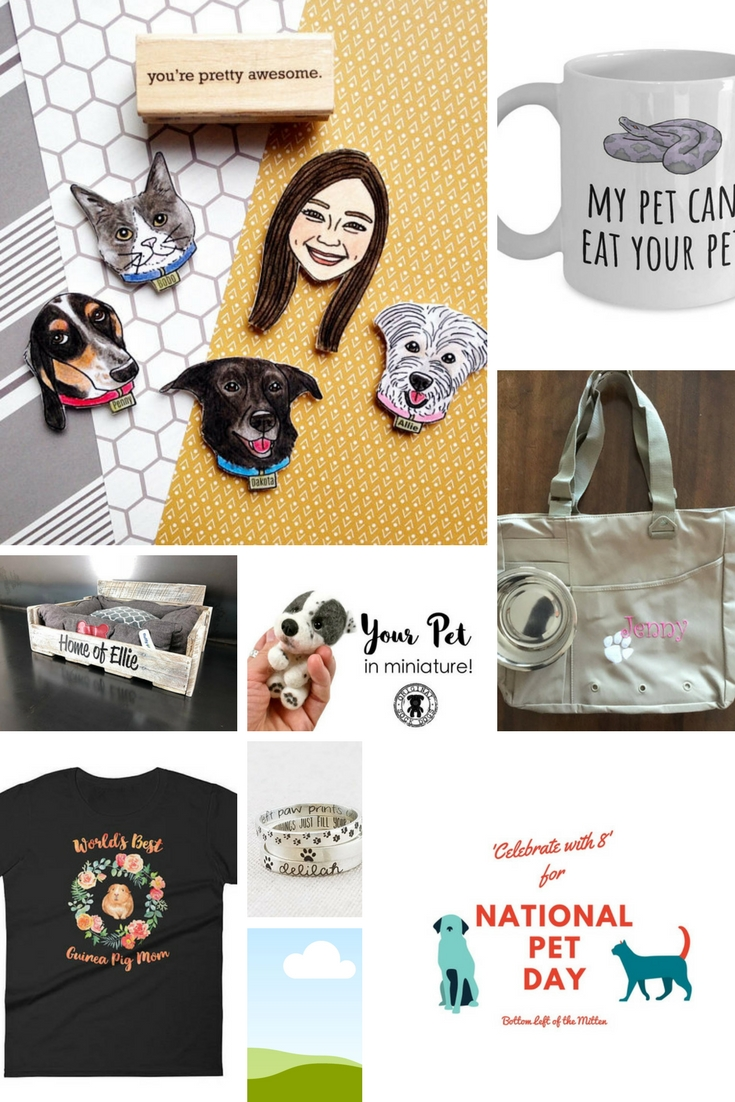 Celebrate with 8 for National Pet Day | Bottom Left of the Mitten #petday #pets #animallover