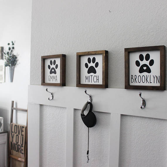 Dog Sign from HouseOfJason | Celebrate with 8 for National Pet Day | Bottom Left of the Mitten