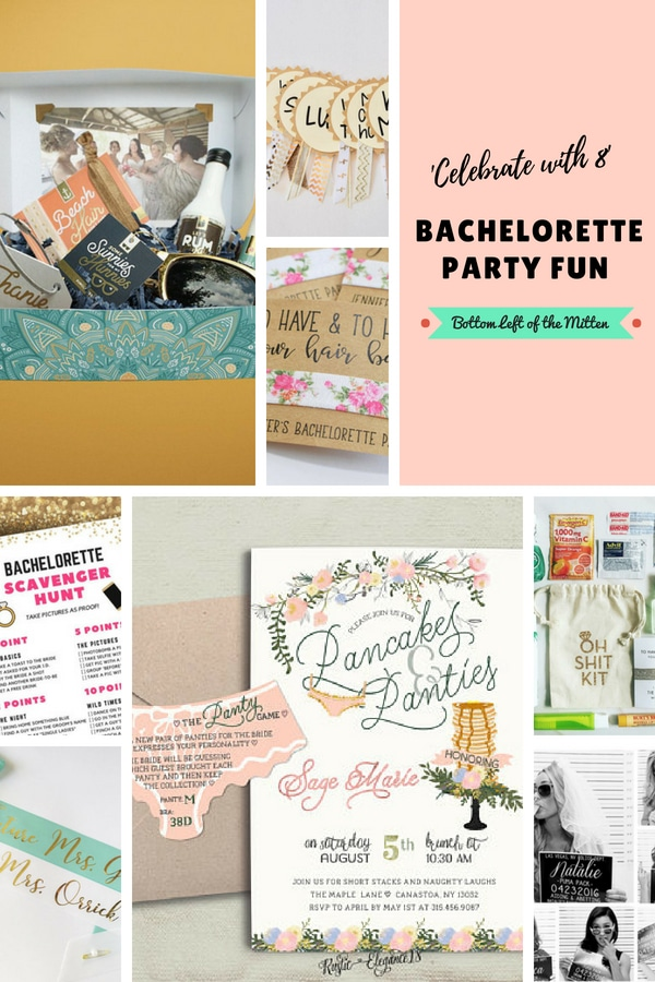 The last hurrah before the big why not go all out? Celebrate with 8 Bachelorette Party Fun. Grab your girls and get ready to party. #bachelorette #bachelorettepartyideas #partyfavors