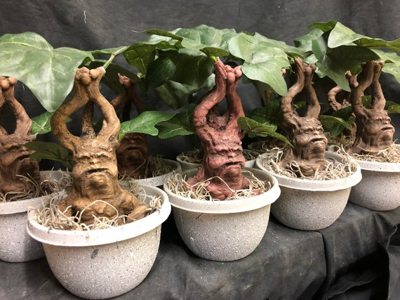 Mandrake rootling from OneailFXStudios | Celebrate with 8 Fantastic Beasts Gift Guide | Bottom Left of the Mitten