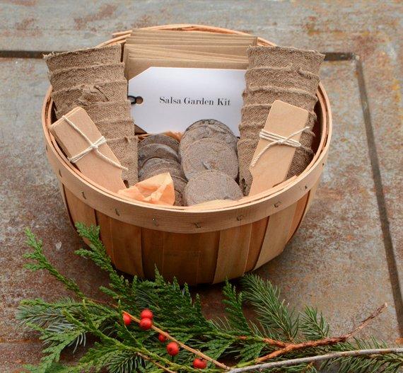 Salsa Garden Kit from MountainlilyFarm | Foodie Gift Guide | Bottom Left of the Mitten