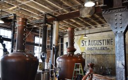 Copper stills from Vendome in Louisville