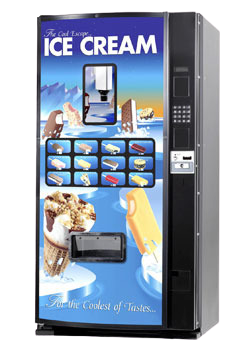 Ice Cream Vending machine - Bottoms Up Vending - Services we offerr