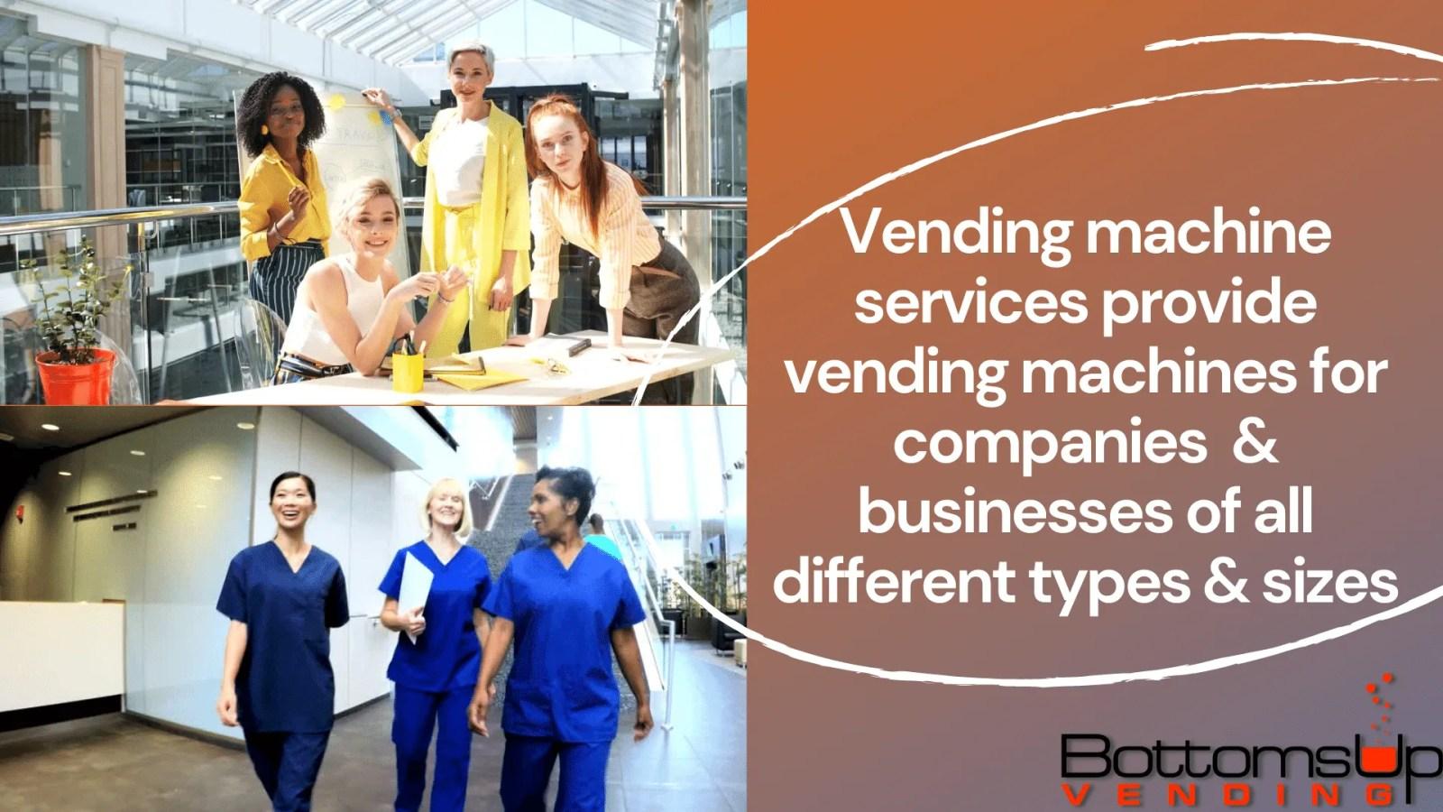 Full Service vending | Self-fill or full-service vending