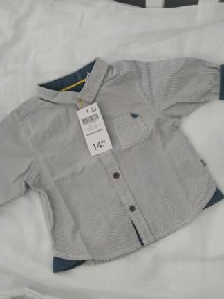 chemise bébé obaibi bon plan