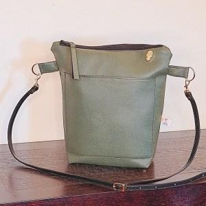 GREEN TEA CROSSBODY BAG
