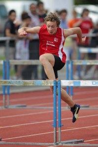 Victor sur 100m haies (photo archive)