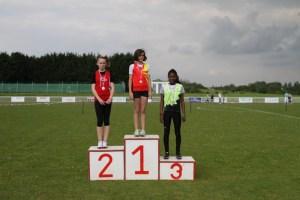 Margaux vice-championne de l'Oise sur 50m haies