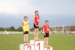 Romane championne de l'Oise sur 1000m