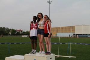 Léa 3ème sur 100m