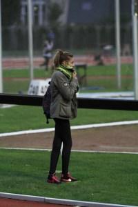 Lise terminait son week-end comme juge au 2nd passage de relais