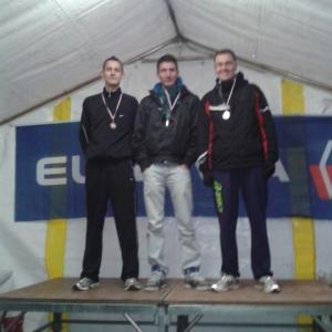 Le podium espoirs 100% BOUC: Jimmy, Anthony et Olivier