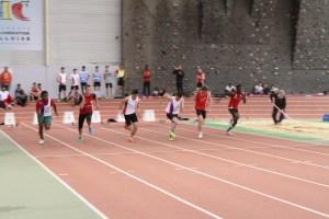Finale du 60m cadets: Anthony et Paulin termineront 4è et 5è...