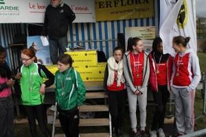 Laura, Romane, Rebecca et Marion remportent la médaille de bronze par équipe