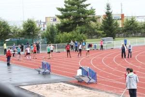 Finale entre Victorien et Ali au 100m...