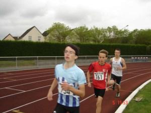Jan sur son 1000m