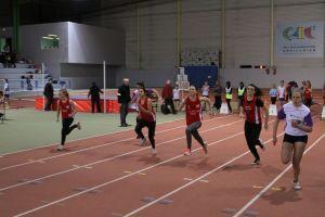 Elisa, Fiona, Garance et Eva dans la même série de 50m