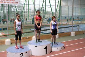 Aurélie victorieuse au poids benjamine