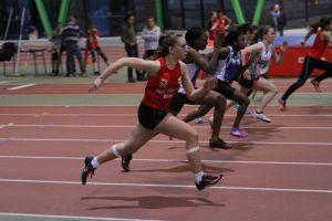 Justine en finale sur 50m