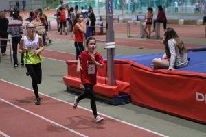 Lucie à la bagarre sur 1000m