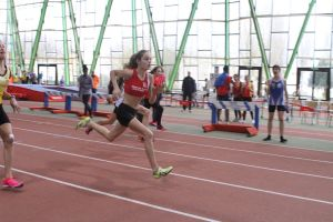 Clara en route vers son record en finale du 50m