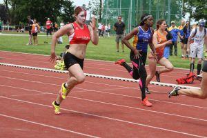 Morgane sur 100m