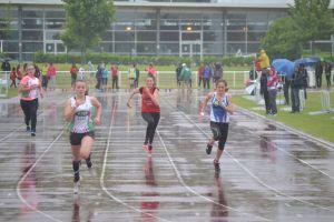 Camille sur 100m
