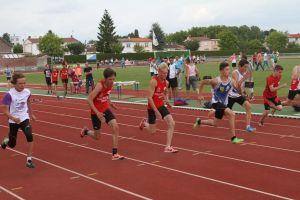 Nelson Kilian et Matthieu en série du 50m