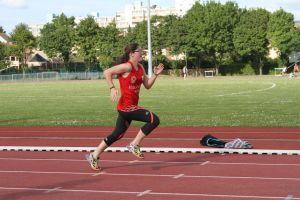 Fannie sur 100m
