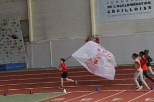 Louis avec le drapeau du bouc