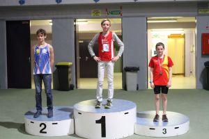 Lucas champion de l'Oise sur 3000m marche
