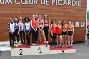 Victoire pour le relais 4x100m cadettes