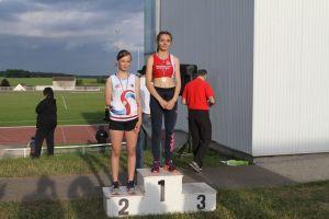 Podium du 100m pour Clara