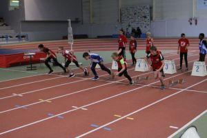 Pierre, Lucas, Léo et Pierre-Jules sur 50m haies