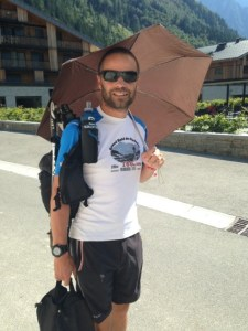 Avant course dans Chamonix