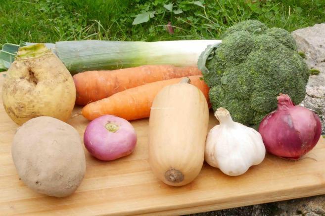 Potage aux 9 légumes