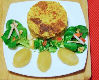 Plascki revisité aux 4 legumes
