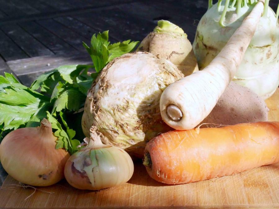 Ensemble des légumes de cette recette